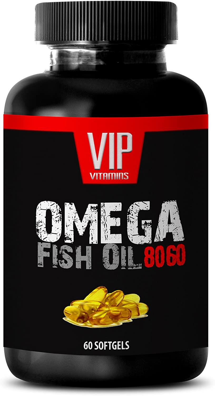 Immune Support Formula - Omega Fish Oil 8060 - Omega 3-1 Bottle 60 Softgels