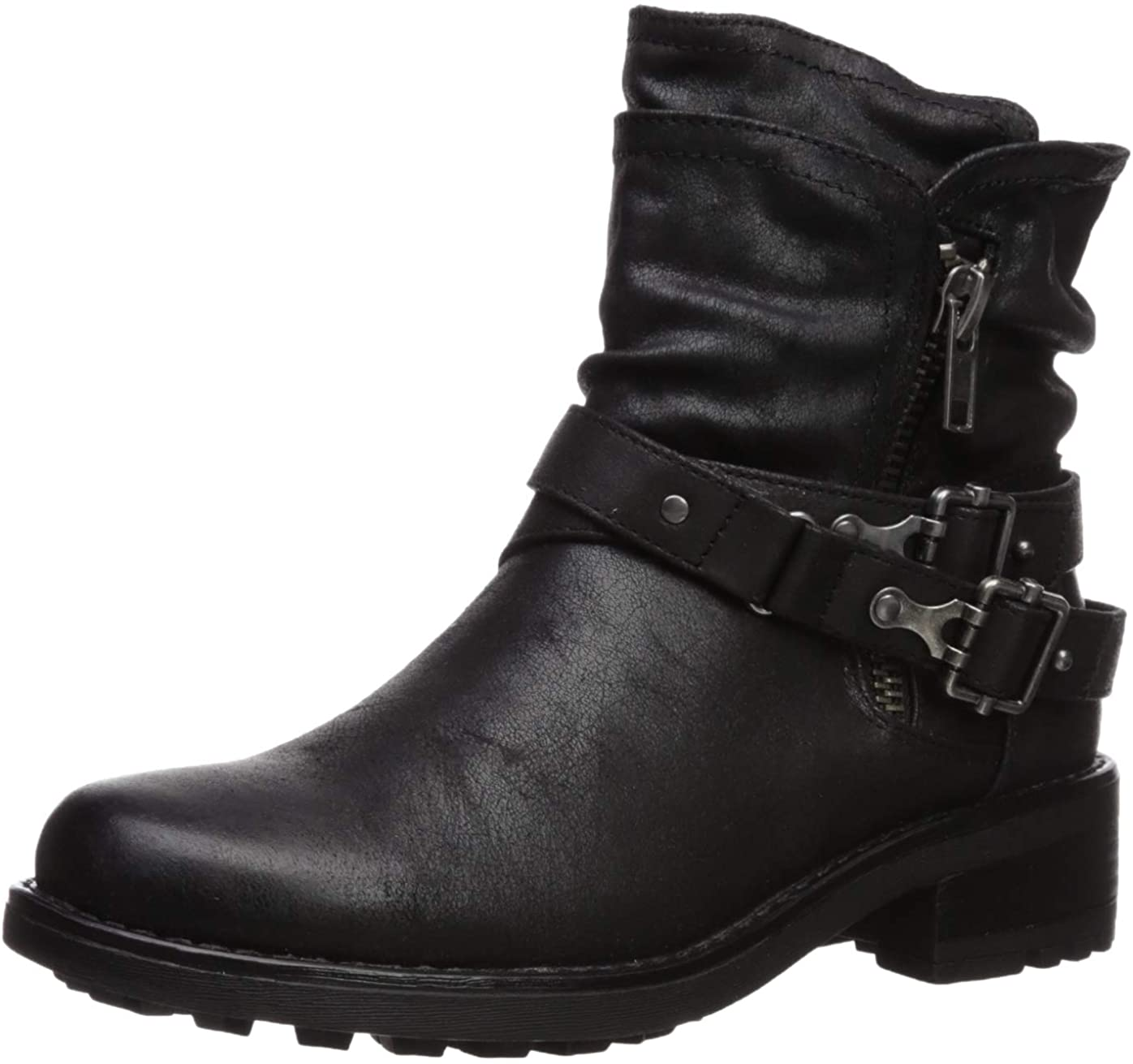 Carlos by Carlos Santana Womens Shiloh Motorcycle Boot