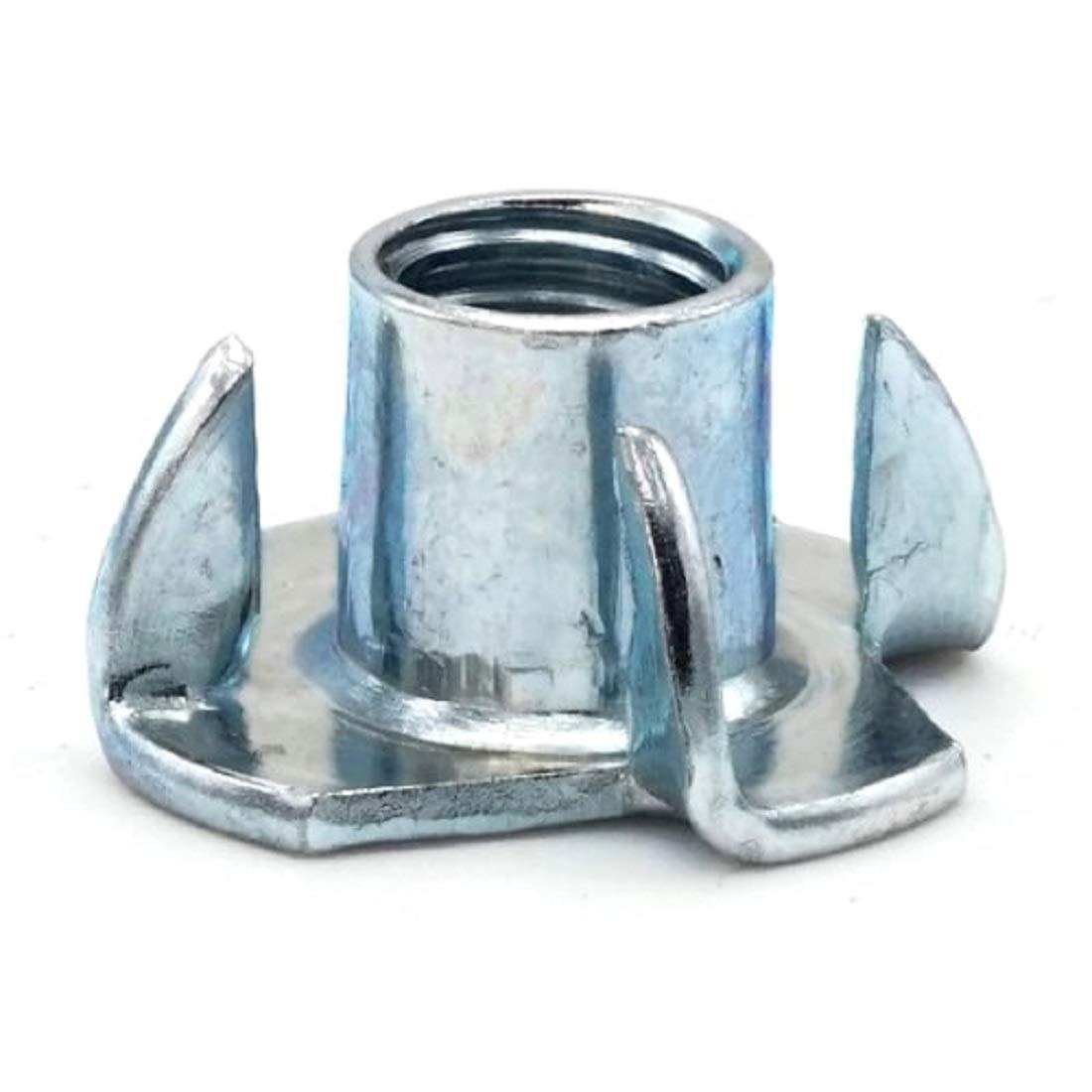 T-Nuts Zinc Plated Steel - #10-24 x 5/16