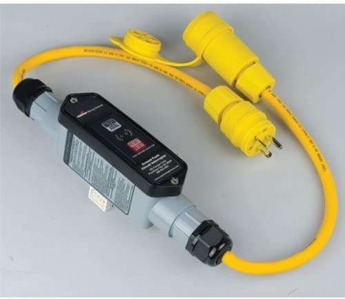 Cooper Wiring Devices GFI13M266 GFCI PORT 6'12/3CRD WT P&C 30A 120V MAN