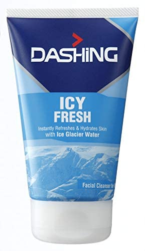 DASHING ICY Fresh Cleanser 100g -It Provides Long Lasting Freshness and Cooling Sensation to The Skin by Instantly Relieving Excessive Heat