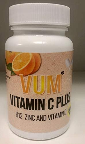 VUM Vitamin C Plus B12, ZINC and Vitamin D-Immune Booster
