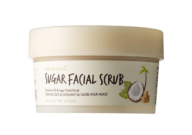 Too Cool For School Coconut Sugar Facial Scrub, 3.38 oz