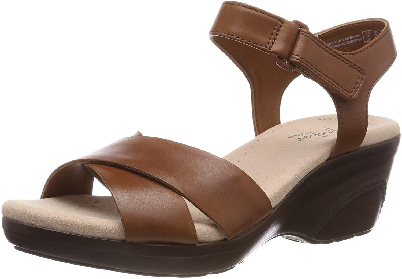 Clarks Womens Platform Sandals
