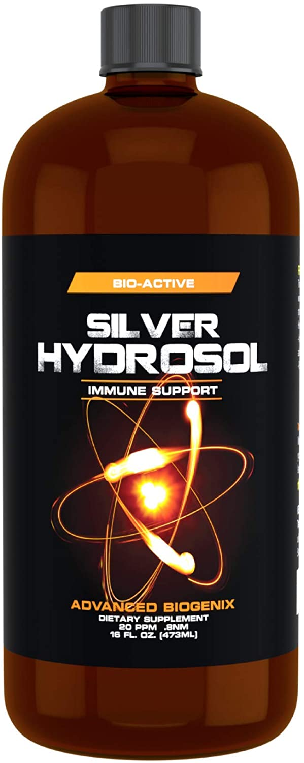 Pharmacist Recommended 16 oz Advanced Biogenix Silver Hydrosol, All Natural & Promotes A Healthy Immune System. Not just a colloidal, Silver That Actually Works!