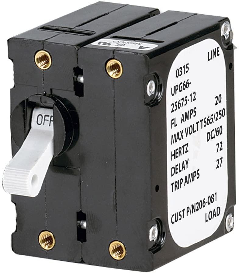 Paneltronics 'A' Frame Magnetic Circuit Breaker - 30 Amps - Double Pole