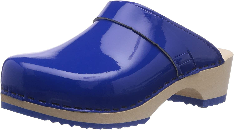 Gevavi Women's Mules, Blu Blau Blau Blauw 84, 8 us