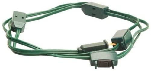 Coleman Cable Indoor Safe Tree Extension Cord #9492
