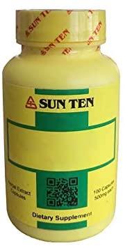 Sun Ten - Astragalus & Atractylodes Combination Capsules/Qing Shu Yi Qi Tang/清暑益氣湯