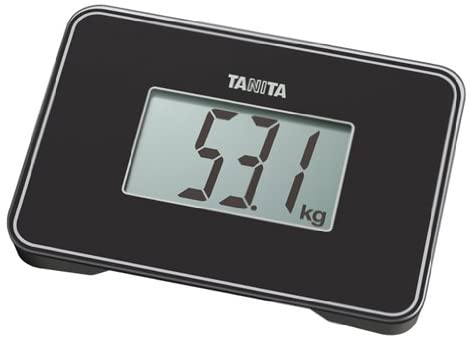 - Compact design smaller than A5 size, easy to carry] Black HD-386-BK TANITA small scale (japan import)