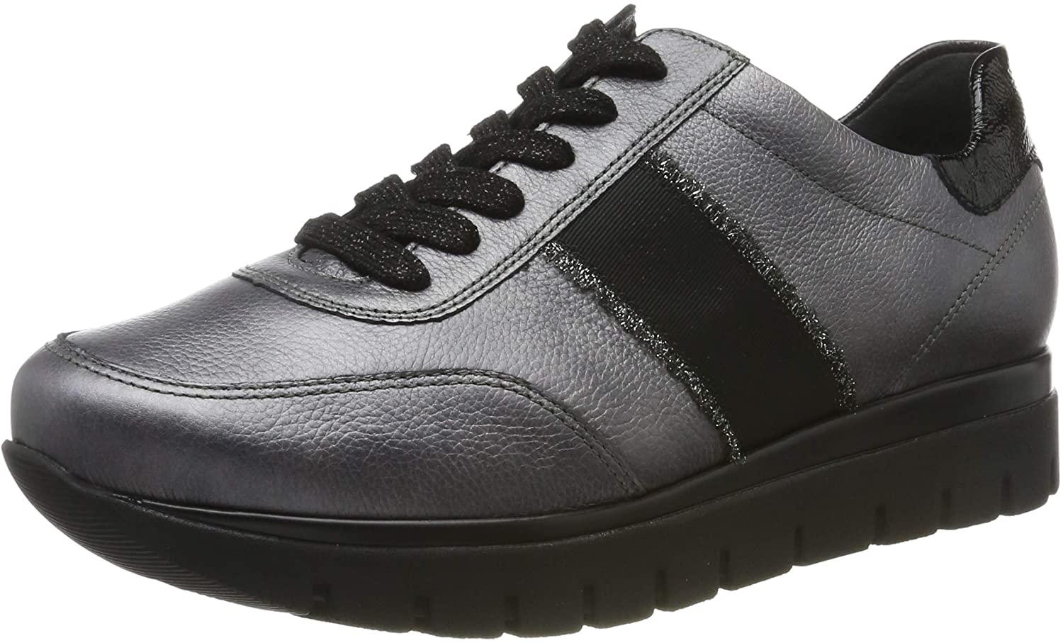 Semler Women's Derby Lace-Up, Grey Grau Schwarz 170, 3.5 UK