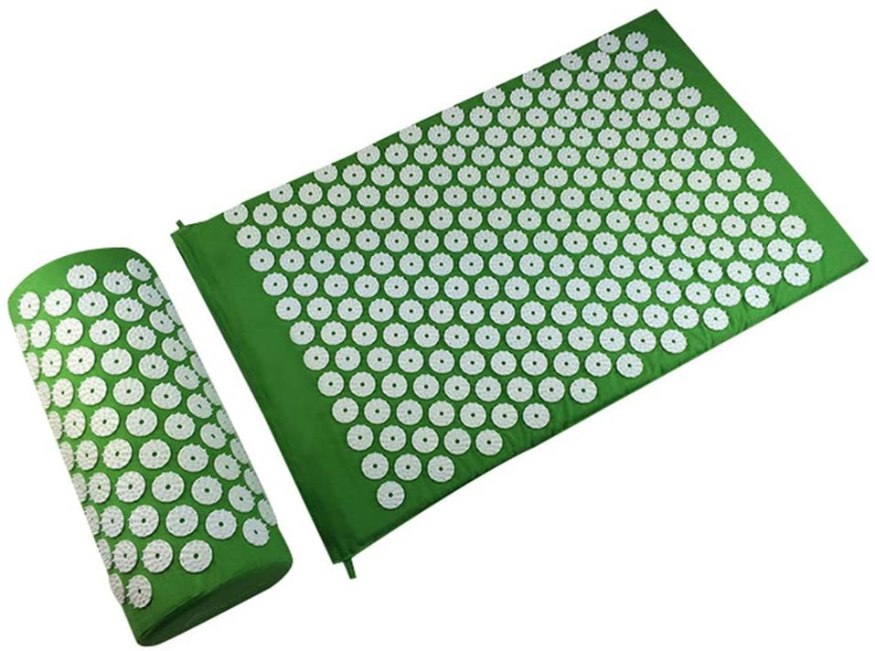 Relieve Stress and Pain Acupuncture Massage Cushion, Acupuncture Massage Cushion, Acupuncture Cushion, Acupuncture Pillow, Suitable for Outdoor, Home, Travel, Etc,F