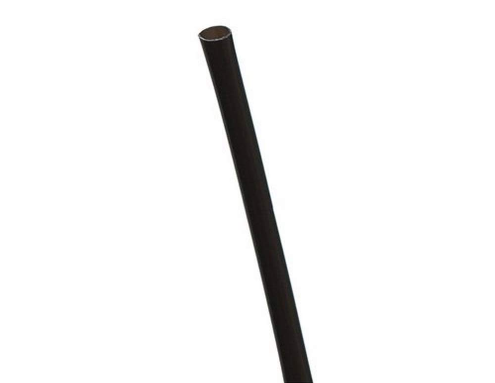 Eco-Products - Unwrapped Straws Bulk - Black Cocktail Straw - (20 Packs of 1000) EP-ST513