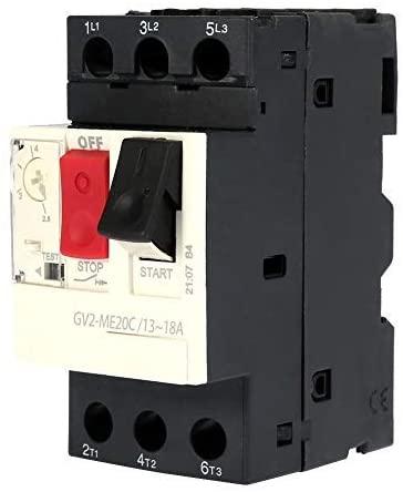 Circuit breaker Electrical circuit breaker, GV2 motor circuit breaker switch, Miniature circuit breaker protective circuit breaker (GV2-ME20C 13~18A)