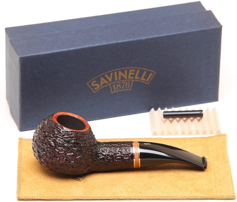 Savinelli Porto Cervo Rustic 320 KS Tobacco Pipe