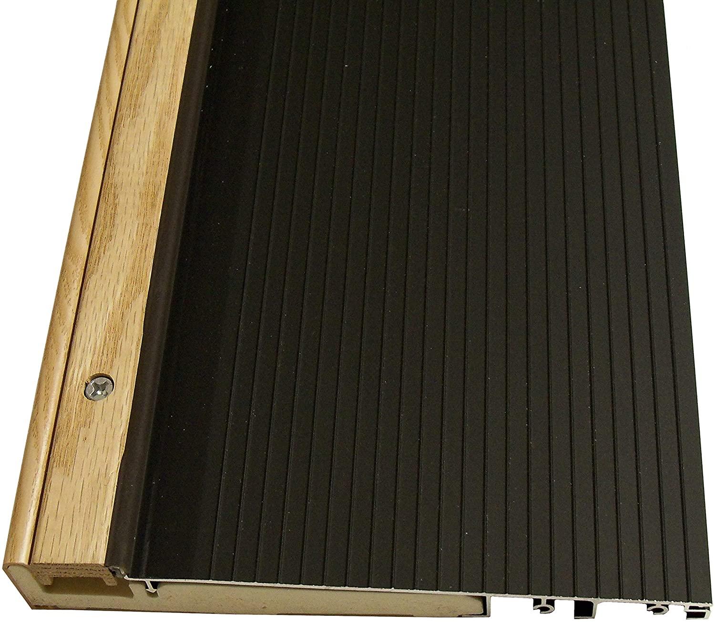 Exterior Inswing Threshold - - 7 13/16 inch x 36 inches Dark Bronze