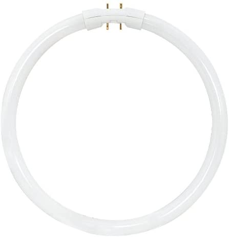 Satco S8161 3000K 55-Watt 2GX13 T5 Circline High Performance Lamp, Warm White