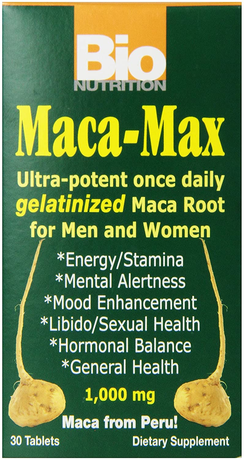 Bio Nutrition Macca Max Once Daily Tabs, 30 Count