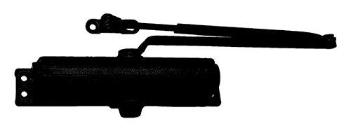 LCN P1261HEDA62GBLKLH P1261 H/O Extra Duty Arm 62G 693 Closer x Thru Bolts, Black