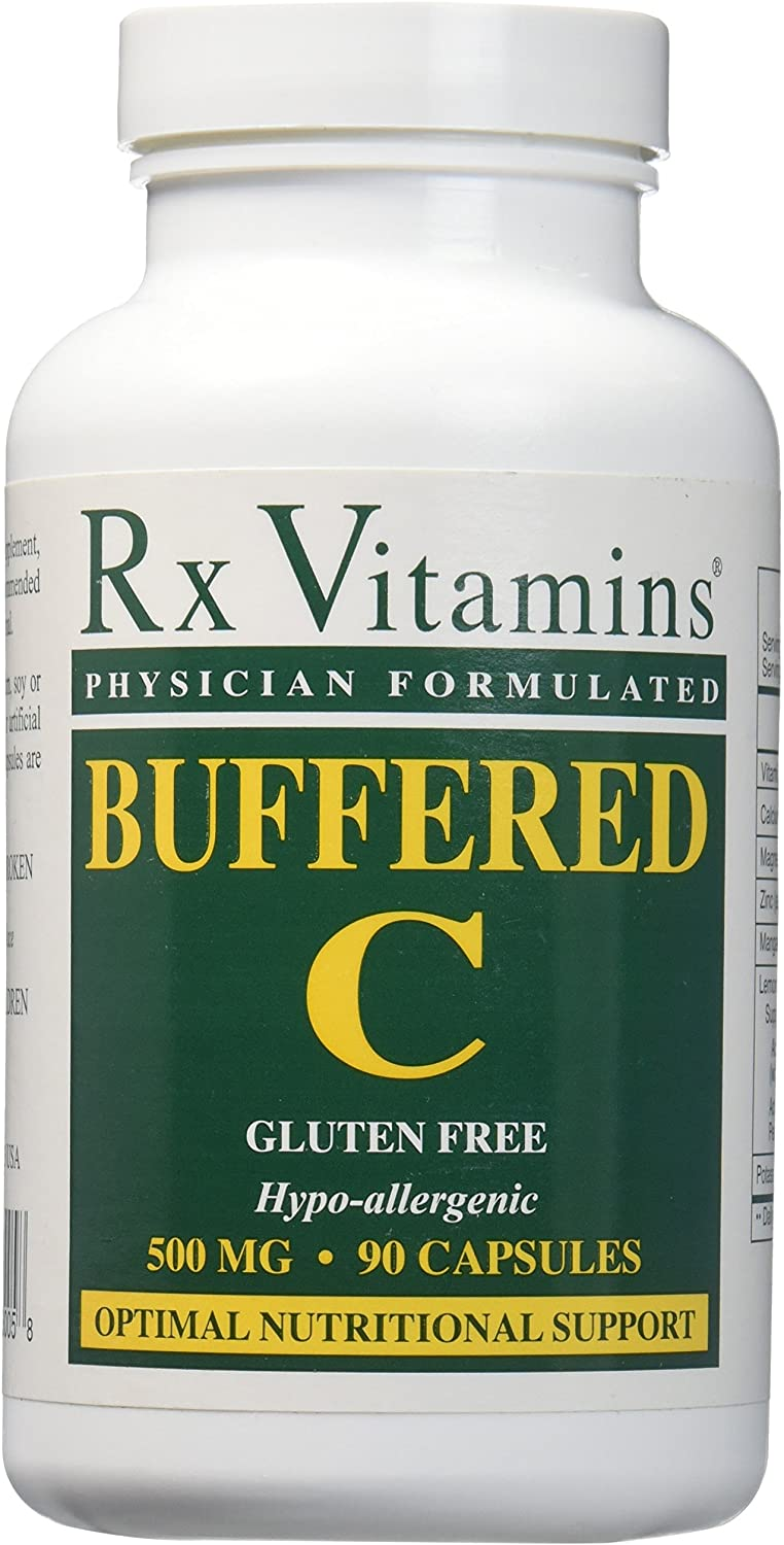 RX Vitamins - Buffered C 500 mg 90 caps [Health and Beauty]