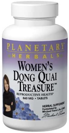 Planetary Herbals Women's Dong Quai Treasure 860mg, Reproductive Health Support