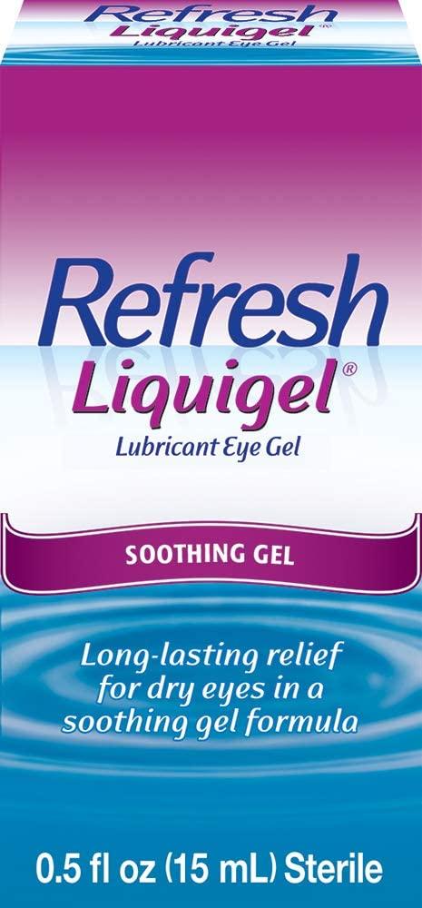 Refresh Liquigel Lubricant Eye Gel, 0.5 fl oz (15mL) Sterile
