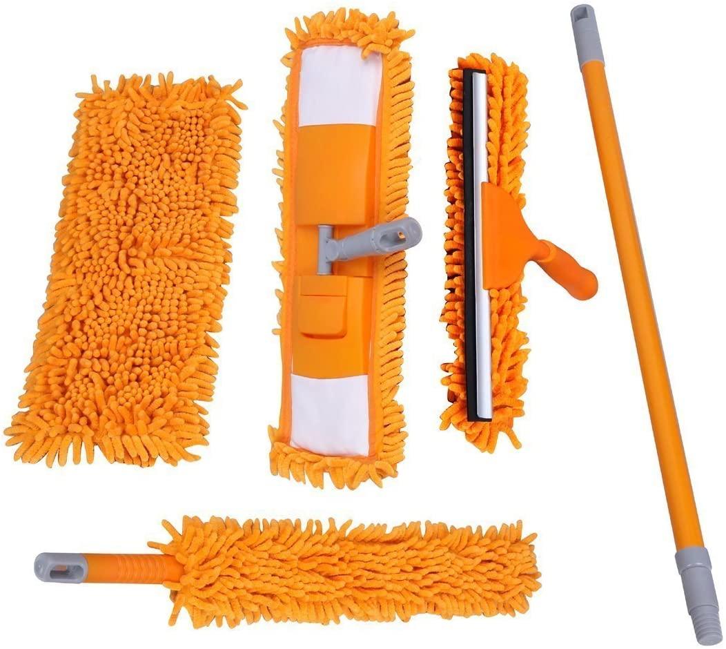 LANDUSA Multi-purpose Microfiber Chenille Mop