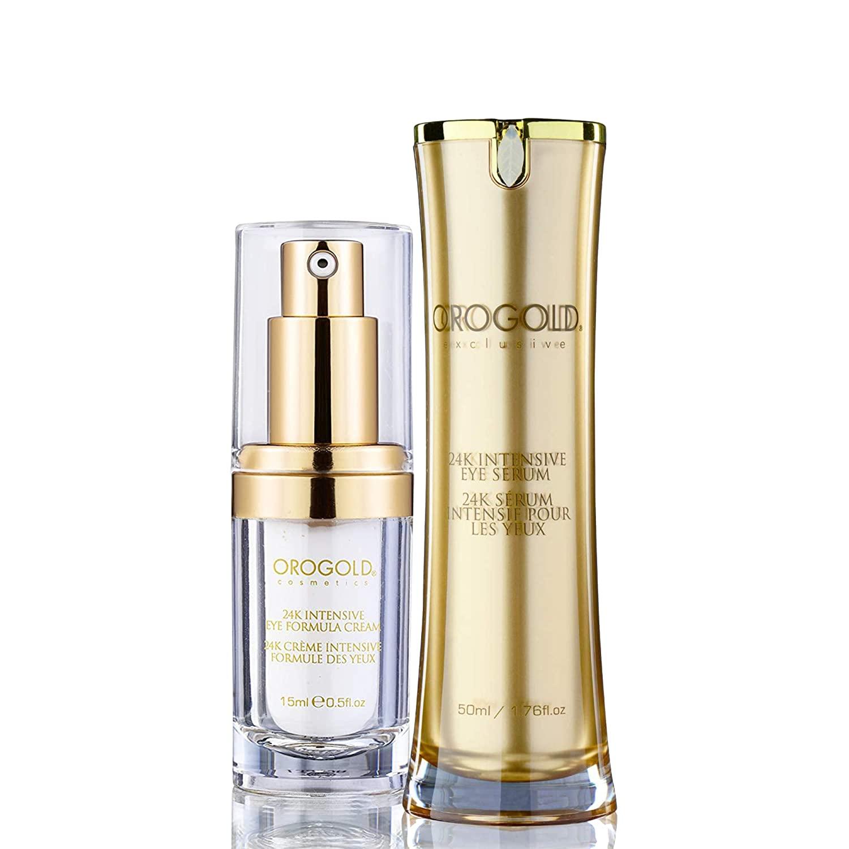 Orogold 24K Intensive Eye Serum and 24K Intensive Eye Formula Cream Set