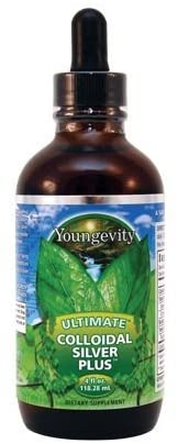 (INTERNATIONAL SHIPPING) 4 Fl Oz Ultimate Colloidal Silver Plus Drops 5PPM Youngevity