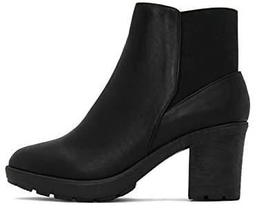 Matt & Nat Mont Royal Block Heel Ankle Boot in Black