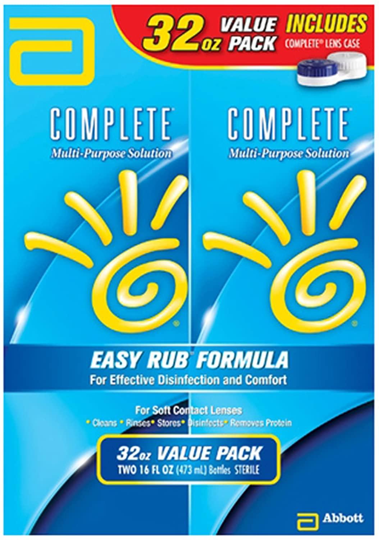 AMO Complete Multi-Purpose Solution, 2 pk./16 fl. oz. (Pack of 2)