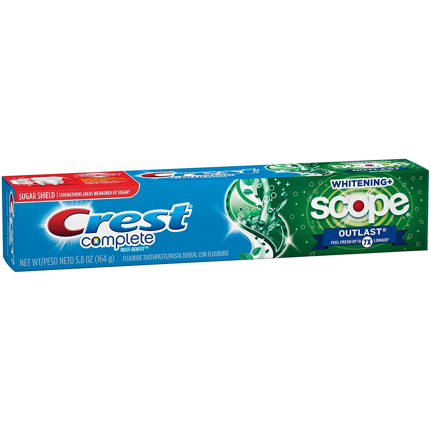 Crest Complete Whitening Scope Outlast 5.8 oz ( Pack of 24)