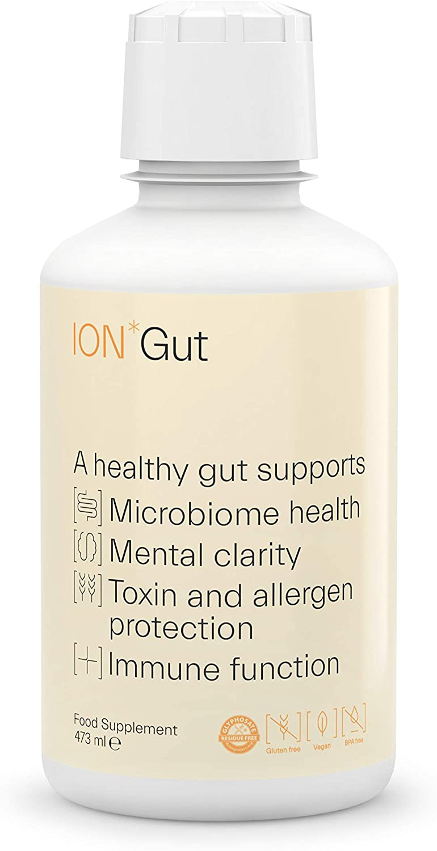 ION*Gut Health | Promotes Digestive Wellness, Strengthens Immune Function, Alleviates Gluten Sensitivity, Enhances Mental Clarity | 1-Month Supply (16 oz.)