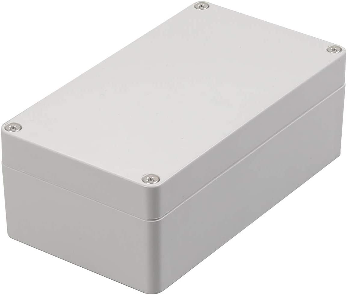 CrocSee ABS Plastic Dustproof Waterproof IP65 Junction Box Universal Durable Electrical Project Enclosure