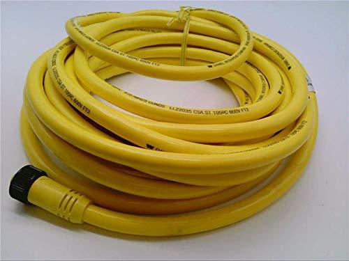 WOODHEAD 61332 16-5 PVC Cord 30FEET, Male/Female, Mini Change Extension QD Cord Set, 5POLE