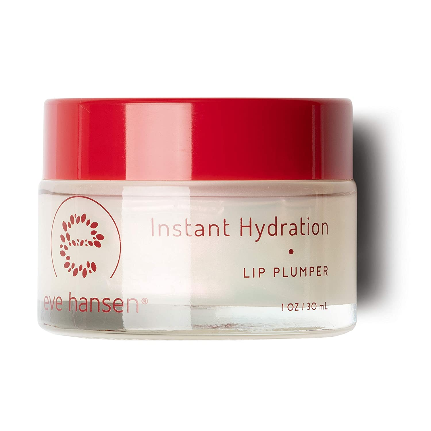 Eve Hansen Lip Plumper Dry Lips Treatment | Lip Moisturizer with Safflower Oil and Castor Oil | Lip Enhancer and Plumping Lip Gloss to Hydrate, Condition and Enhance Lip Fullness | 1 oz
