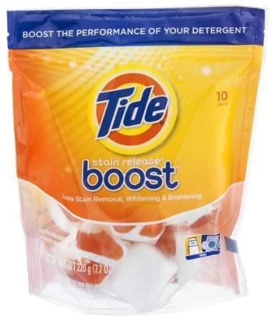 Tide Stain Release Boost Extra Stain Removal, Whitening and Brightening - 10 Ea, Pack of 2