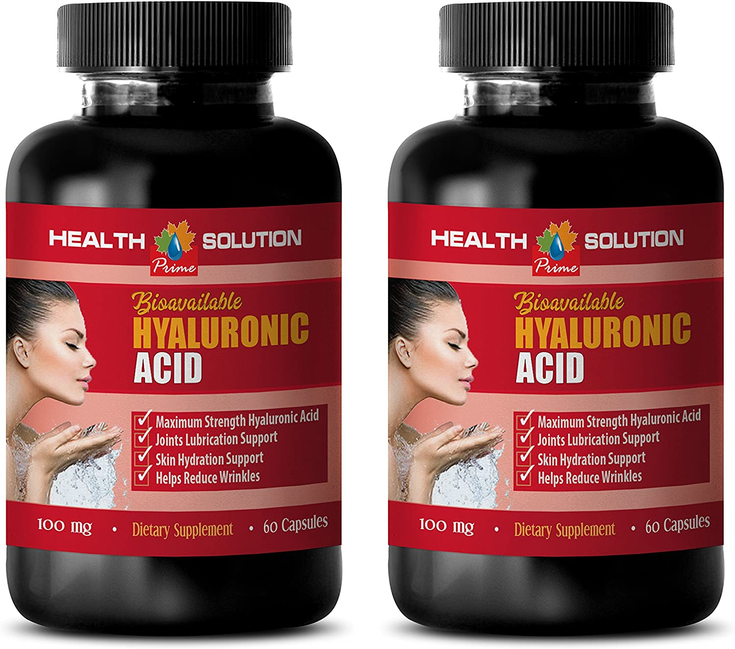 Joint Supplements Herbal - BIOAVAILABLE HYALURONIC Acid - hyaluronic Acid Joint Complex - 2 Bottles 120 Capsules