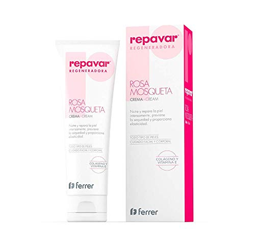 REPAVAR Rosehip Oil REGENERATIVE COLLAGEN AND VIT E FACIAL AND BOBY CREAM 125 ml Treatment Skincare Products