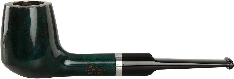 Molina Barasso Green 108 Tobacco Pipe - Billiard