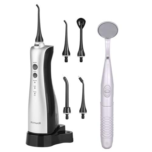 Mornwell Water flosser with Dental Mouth Mirror