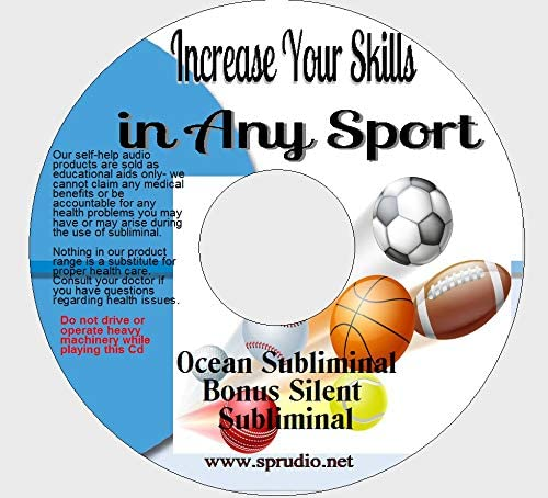 Increase Your Sporting Skills Subliminal CD, Increase Your Skills in Any Sport Subliminal Ocean Wave