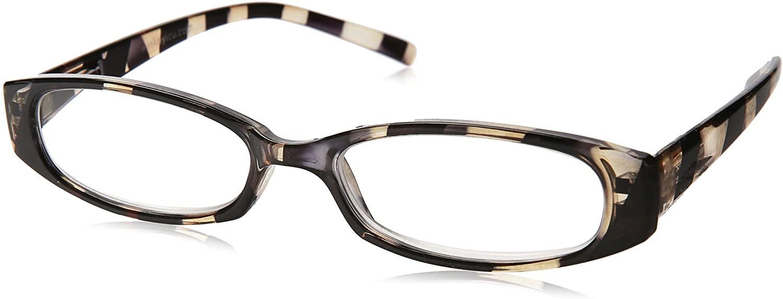 Wink Fancy Zebra Stripe Reading Glass Suede with Case, 2.25, 1 Count