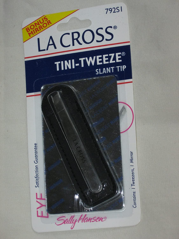 TINI-TWEEZE slant tip tweezers