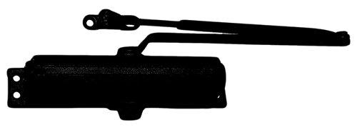 LCN P1261EDA62GBLK P1261 EDA (Extra Duty Arm) 62G 693 Closer x Thru Bolts, Black