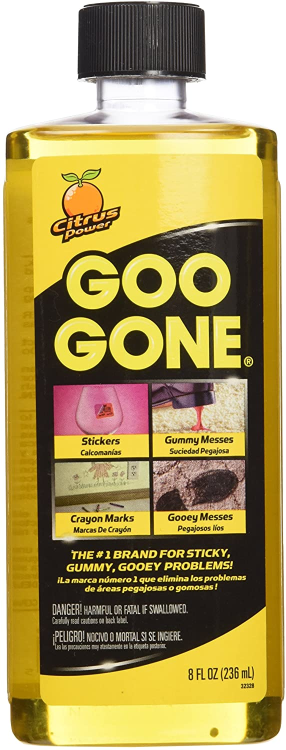 Goo Gone Surface Safe Adhesive Remover, 8 oz, 2 Pack