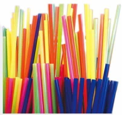 325-pc Stirrer Straws, Assorted Colors
