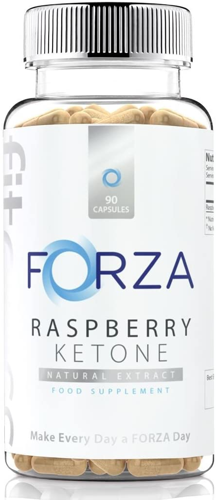 Natural Fat Burner - Raspberry Ketone- Fruit Based - Pure Extract for Weight Loss & Slimming - Diet Pills (90 Capsules)