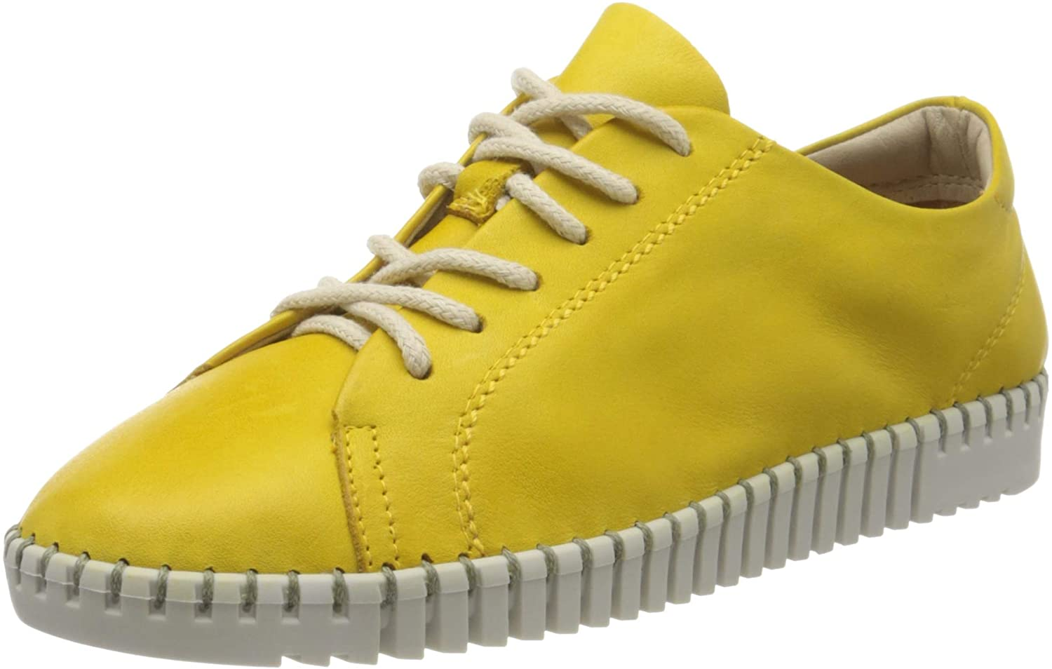 Tamaris Women's Derby Lace-Up, Yellow Sun 602, 8