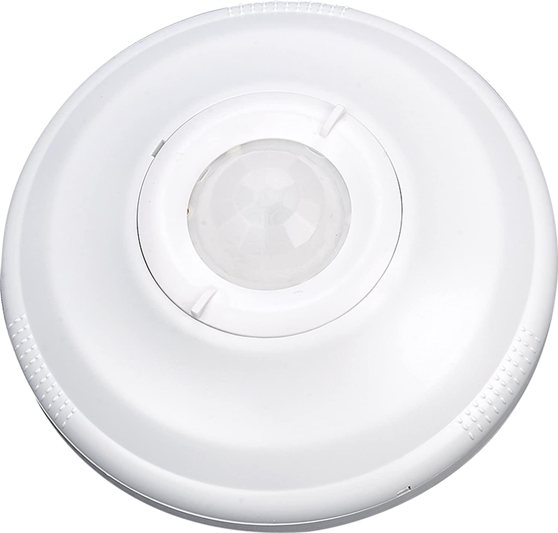 ECOELER 360 Degree PIR Ceiling Occupancy Lighting Switch,Ceiling Mount Motion Sensor Ceiling Motion Sensor Switch, 120-277VAC PIR Motion Detector Switch for Pir Ceiling